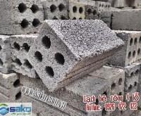 Gach block 8x8x18cm  4 lo rong