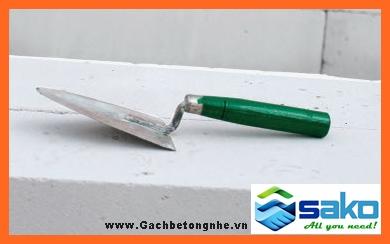 bay xây thông dụng xây gạch nhẹ AAC