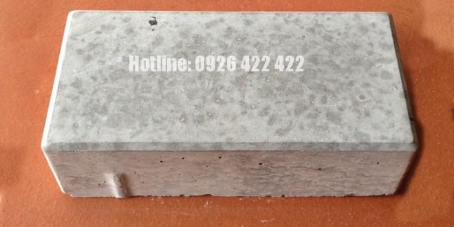 Gạch xi măng tự chèn - mẫu chữ nhật