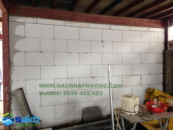 Gạch bê tông nhẹ AAC tại Sóc Trăng, Kiên Giang, Bạc Liêu, Đồng Tháp, An Giang, Phú Yên