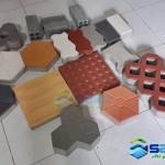 Gạch bê tông cường độ cao SAKO tại Văn Phòng