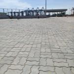 Gạch con sâu (Ziczac) - 8cm, M600 Cảng Cái Mép