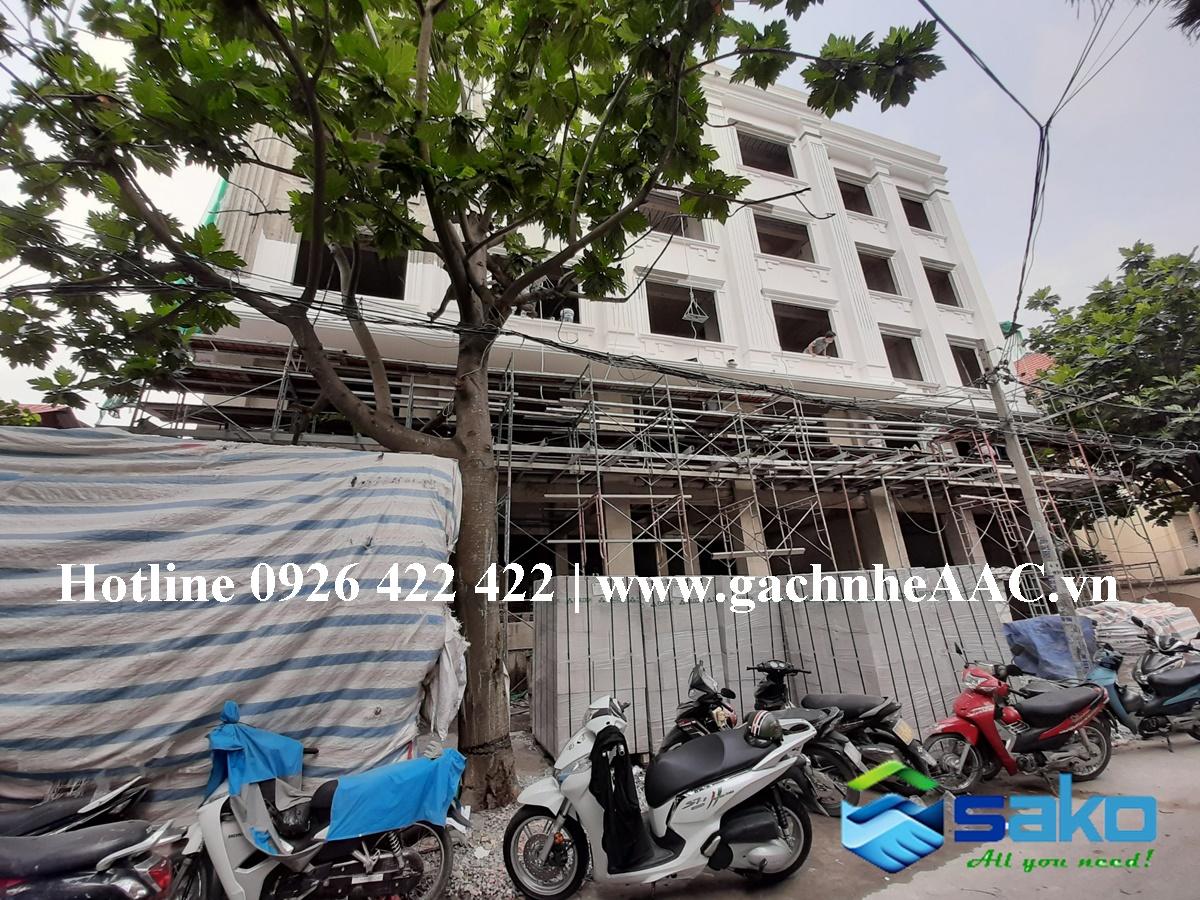 Khach san tai Binh Thanh su dung 100% gach nhe AAC cua SAKO Viet Nam