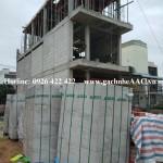 Nhà phố Anh Vũ - KDC Vsip1, Bình Dương dùng gạch AAC SAKO