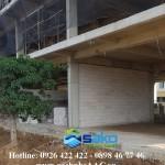 Dự án Bệnh Viện Trà Vinh - Sử dụng gạch nhẹ AAC SAKO