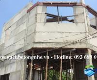 Nhà phố tại Bình Thạnh sử dụng tấm tường siêu nhẹ lắp ghép SAKO