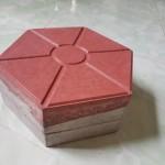 Gạch lục giác 10cm, Đỏ, Mác 400