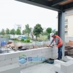 Khách hàng đánh giá cao về tường gạch AAC chất lượng hơn gạch ống 4 lỗ.