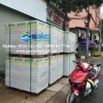 Tấm tường bê tông siêu nhẹ tại Công Trình Karaoke Đường Tân Sơn