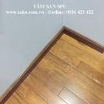 Len tường minh họa cho sàn SPC