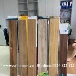 Mẫu sàn nhựa đá SPC vân gỗ