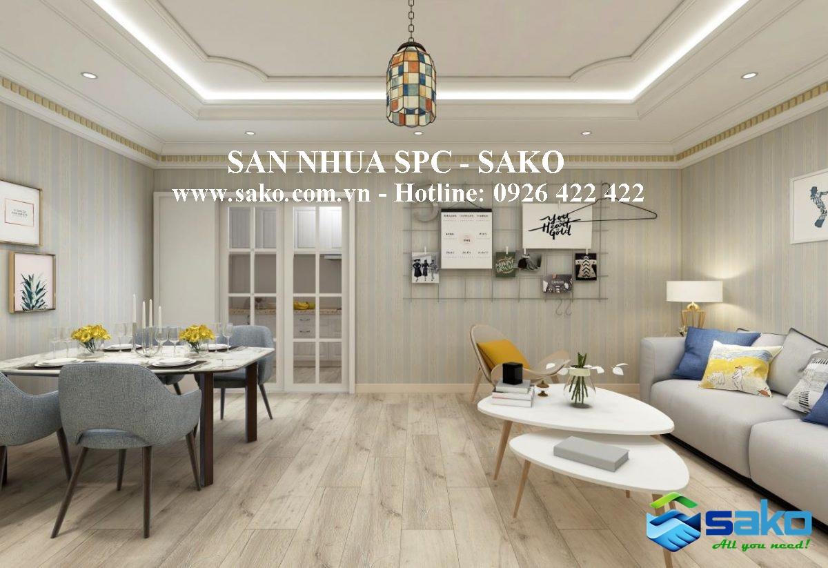 San nhua van go SPC cao cap nhat tai SAKO Viet Nam