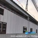 Nhà Máy tại KCN Phú Mỹ 2 dùng tấm PANEL 2980mm x 75mm của SAKO Việt Nam