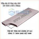 Tấm sàn ALC 1800x600x75mm