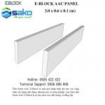 Hướng dẫn lắp tấm bê tông nhẹ ALC 3000x600x100mm